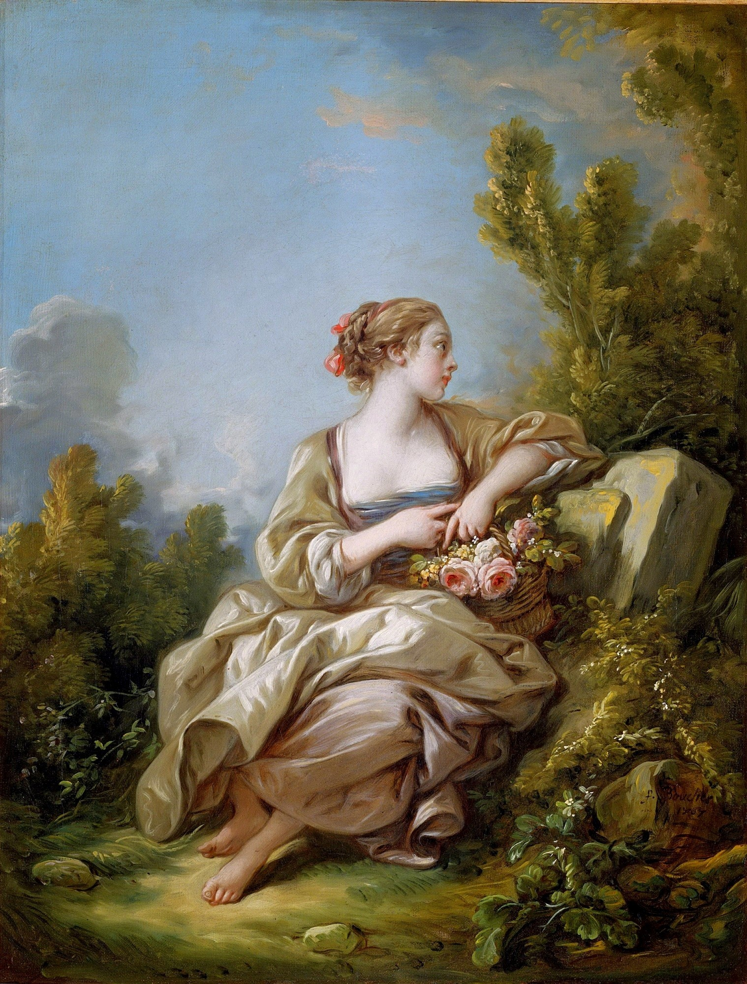 The Young Gardener, Francois Boucher